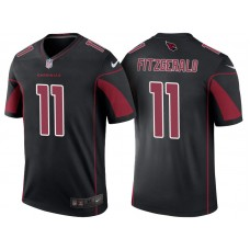 Arizona Cardinals #11 Larry Fitzgerald Black Color Rush Legend Jersey
