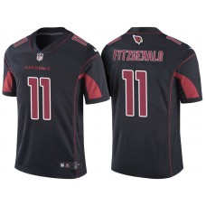 Arizona Cardinals #11 Larry Fitzgerald Black Color Rush Limited Jersey
