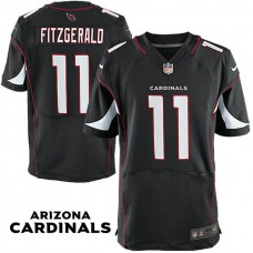 Arizona Cardinals #11 Larry Fitzgerald Black Elite Jersey