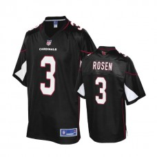 Arizona Cardinals #3 Josh Rosen 2018 Draft Black Alternate Player Jersey