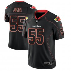 Arizona Cardinals #55 Chandler Jones 2018 Lights Out Color Rush Limited Black Jersey