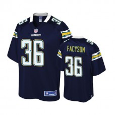 Youth Los Angeles Chargers #36 Brandon Facyson Navy Player Jersey