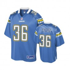 Youth Los Angeles Chargers #36 Brandon Facyson Powder Blue Player Jersey