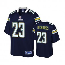 Youth Los Angeles Chargers #23 Jeff Richards Navy Player Jersey