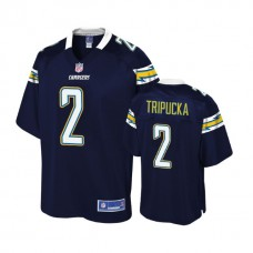 Youth Los Angeles Chargers #2 Shane Tripucka Navy Player Jersey