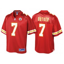 Youth Kansas City Chiefs #7 Harrison Butker Red Pro Line Jersey