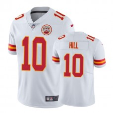 Kansas City Chiefs #10 Tyreek Hill White Vapor Untouchable Limited Player Jersey