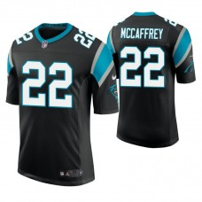 Carolina Panthers #22 Christian McCaffrey Black Vapor Untouchable Limited Player Jersey