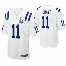 Indianapolis Colts #11 Ryan Grant White 35th Anniversary Game Jersey