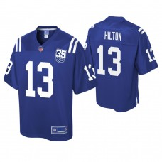Youth Indianapolis Colts #13 T. Y. Hilton 35th Anniversary player Pro Line Royal Jersey