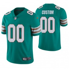 Miami Dolphins Aqua Vapor Untouchable Limited Customized Jersey