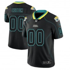 Jacksonville Jaguars 2018 Lights Out Color Rush Limited Black Customized Jersey