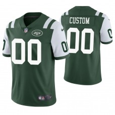New York Jets Vapor Untouchable Limited Green Customized Jersey