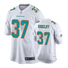 Youth Miami Dolphins #37 Brandon Radcliff White New 2018 Game Jersey