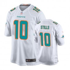 Youth Miami Dolphins #10 Kenny Stills White New 2018 Game Jersey