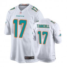 Youth Miami Dolphins #17 Ryan Tannehill White New 2018 Game Jersey