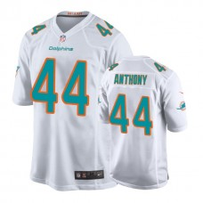 Youth Miami Dolphins #44 Stephone Anthony White New 2018 Game Jersey