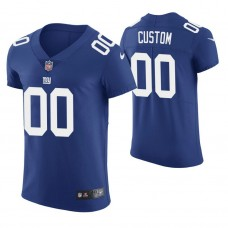 New York Giants Royal Elite Customized Jersey
