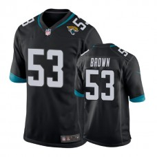 Youth Jacksonville Jaguars #53 Blair Brown Black New 2018 Game Jersey