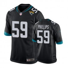 Youth Jacksonville Jaguars #59 Carroll Phillips Black New 2018 Game Jersey