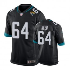 Youth Jacksonville Jaguars #64 Chris Reed Black New 2018 Game Jersey