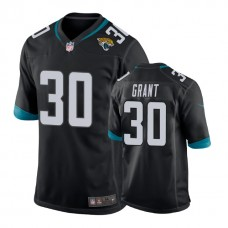 Youth Jacksonville Jaguars #30 Corey Grant Black New 2018 Game Jersey