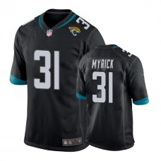 Youth Jacksonville Jaguars #31 Jalen Myrick Black New 2018 Game Jersey
