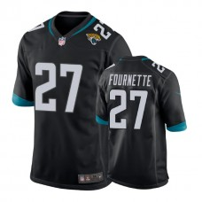 Youth Jacksonville Jaguars #27 Leonard Fournette Black New 2018 Game Jersey