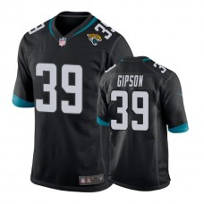 Youth Jacksonville Jaguars #39 Tashaun Gipson Black New 2018 Game Jersey