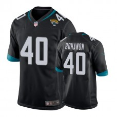 Youth Jacksonville Jaguars #40 Tommy Bohanon Black New 2018 Game Jersey