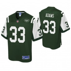 Youth New York Jets #33 Jamal Adams Pro Line Green Jersey
