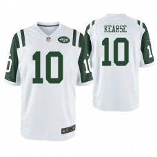 New York Jets #10 Jermaine Kearse White Game Jersey