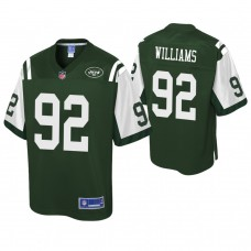 Youth New York Jets #92 Leonard Williams Pro Line Green Jersey