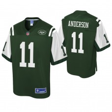 Youth New York Jets #11 Robby Anderson Pro Line Green Jersey