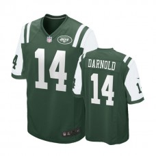 New York Jets #14 Sam Darnold Green 2018 Draft Pick Game Jersey
