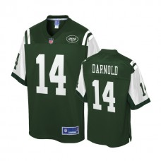 Youth New York Jets #14 Sam Darnold Green Player Pro Line Jersey