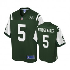 Youth New York Jets #5 Teddy Bridgewater Green Player Jersey