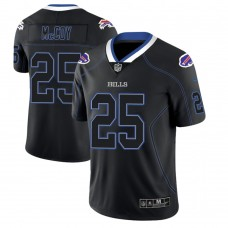 Buffalo Bills #25 LeSean McCoy 2018 Lights Out Color Rush Limited Black Jersey