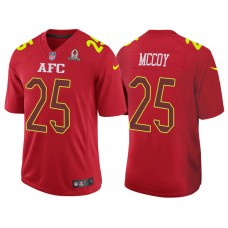 2017 Pro Bowl AFC LeSean McCoy Red Game Jersey