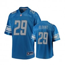 Youth Detroit Lions #29 LeGarrette Blount Blue Player Jersey
