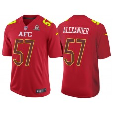 2017 Pro Bowl AFC Lorenzo Alexander Red Game Jersey