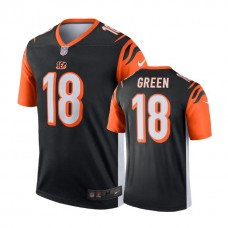 Cincinnati Bengals #18 A.J. Green Black Legend Jersey
