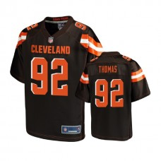 Cleveland Browns #92 Chad Thomas Brown 2018 Draft Player Jersey