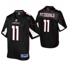 Arizona Cardinals #11 Larry Fitzgerald Black Pro Line Alternate Jersey