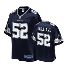 Dallas Cowboys #52 Connor Williams Navy 2018 Draft Player Jersey