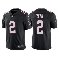 Atlanta Falcons #2 Matt Ryan Black Vapor Untouchable Limited Player Jersey