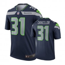 Seattle Seahawks #31 Kam Chancellor College Navy Legend Jersey