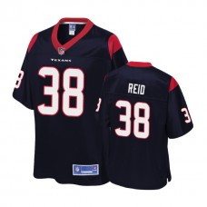 Houston Texans #38 Justin Reid Navy 2018 Draft Player Jersey
