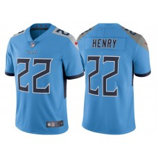 Tennessee Titans #22 Derrick Henry Light Blue 2018 Vapor Untouchable Limited Jersey