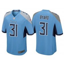 Tennessee Titans #31 Kevin Byard Light Blue 2018 Game Jersey